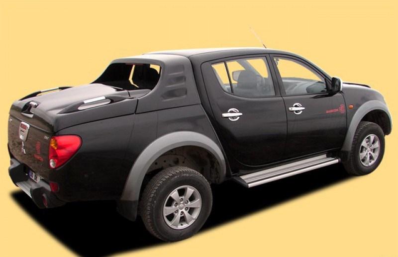 Кунг на пикап Mitsubishi L200,Volkswagen Amarok, Nissan Navara, Toyota Hilu